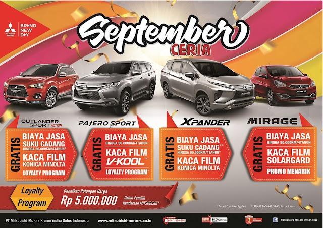 Promo Mitsubishi September Ceria di Bintaro