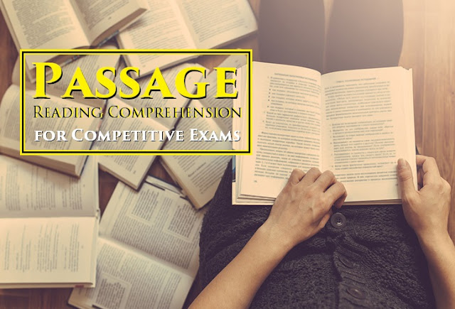 Comprehension Passage for SSC CHSL 2018