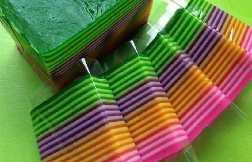 Resep Kue Lapis Warna Warni Spesial Untuk Keluarga
