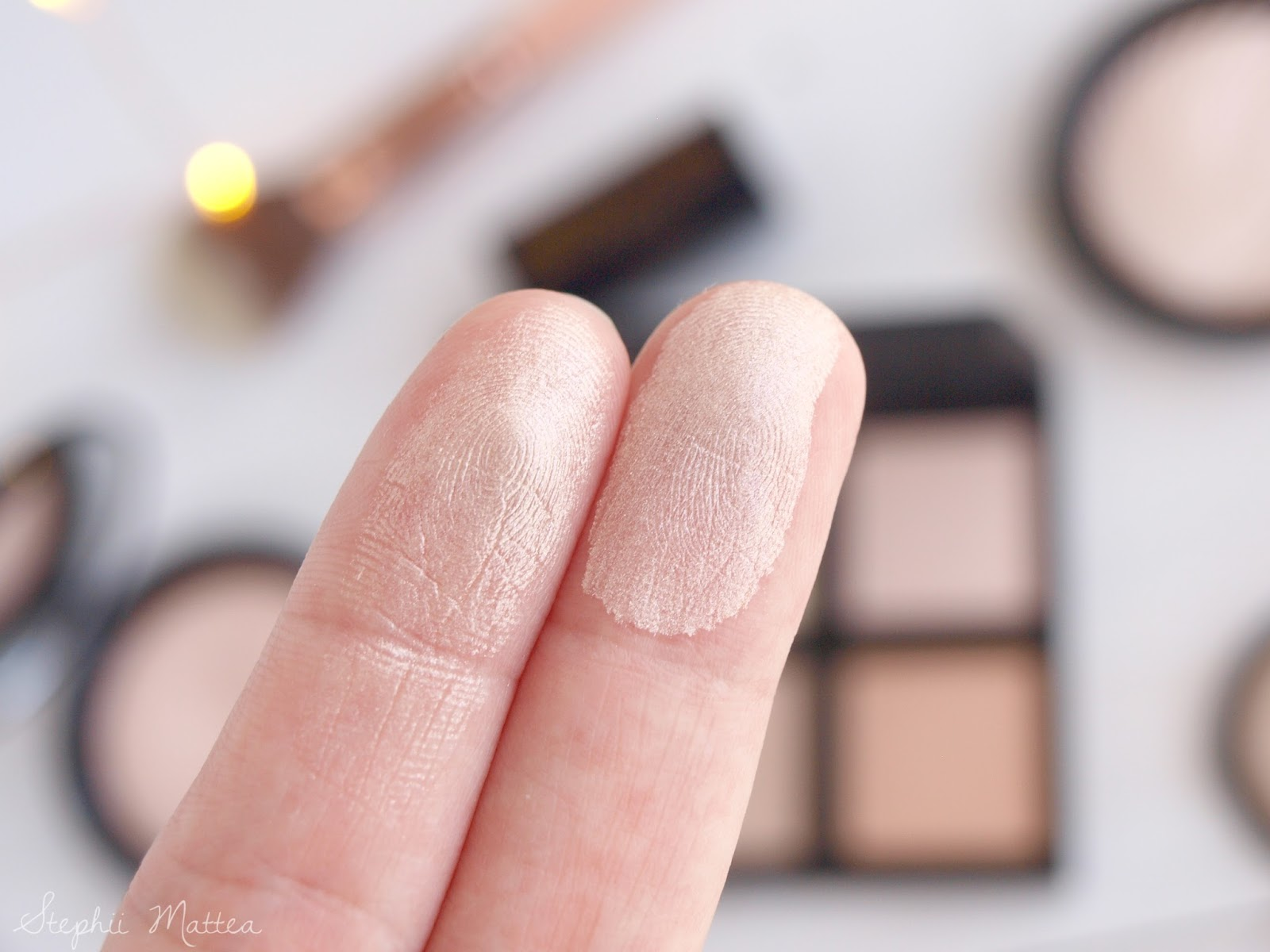 The Battle of the Baked Highlighters: e.l.f Cosmetics Baked Highlighter vs MUR Vivid Baked Highlighter