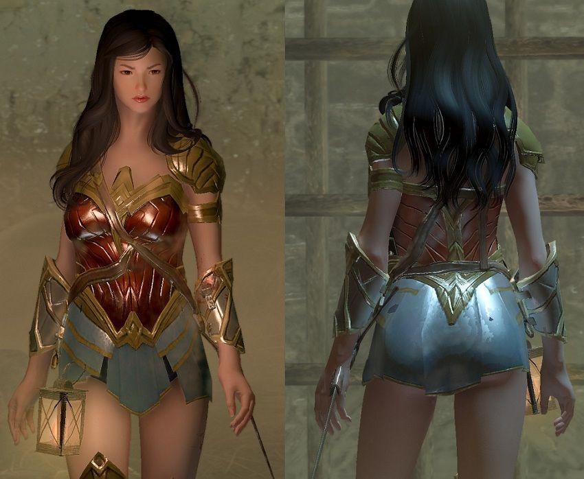 Amazonian Armor [CBBE] ~ Eskyrim