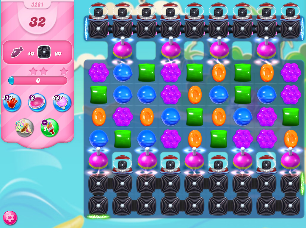 Candy Crush Saga level 3281