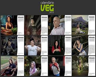 Calendário Veg 2013