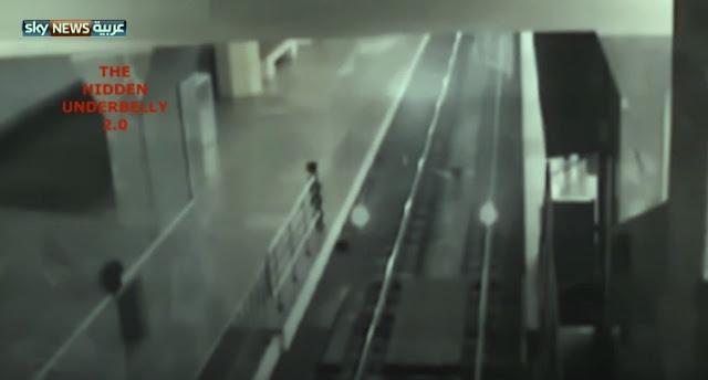 ◄| شاهد | شبح قطار يثير الرعب داخل محطة: «لم نشاهد أمرًا مثل هذا من قبل»