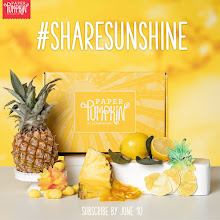 My Paper Pumpkin, June Kit - Share Sunshine!