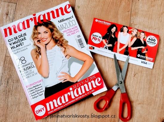 Marianne časopis, marianne kupóny