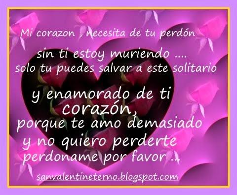 Frases E Imagenes Para Pedir Perdón A Un Amor Mizancudito