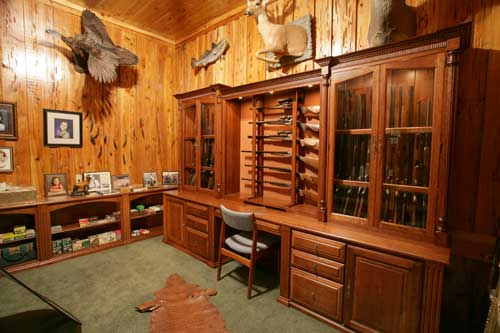 Amish handcrafted gun cabinets