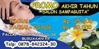 Spanduk Salon Promo