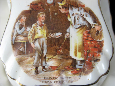 https://timewasantiques.net/products/dickens-ware-oliver-twist-butter-dish-cheese-dome-2-piece-1920s-lancaster