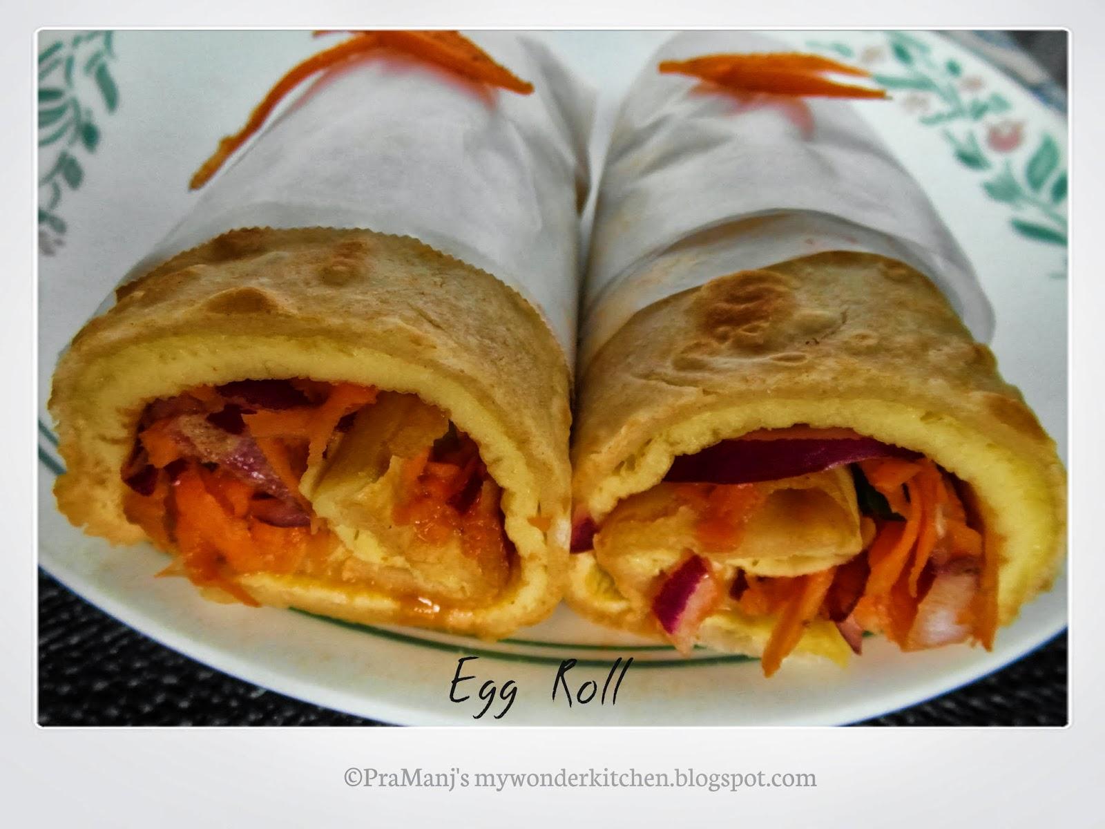 Bokaro Egg Roll