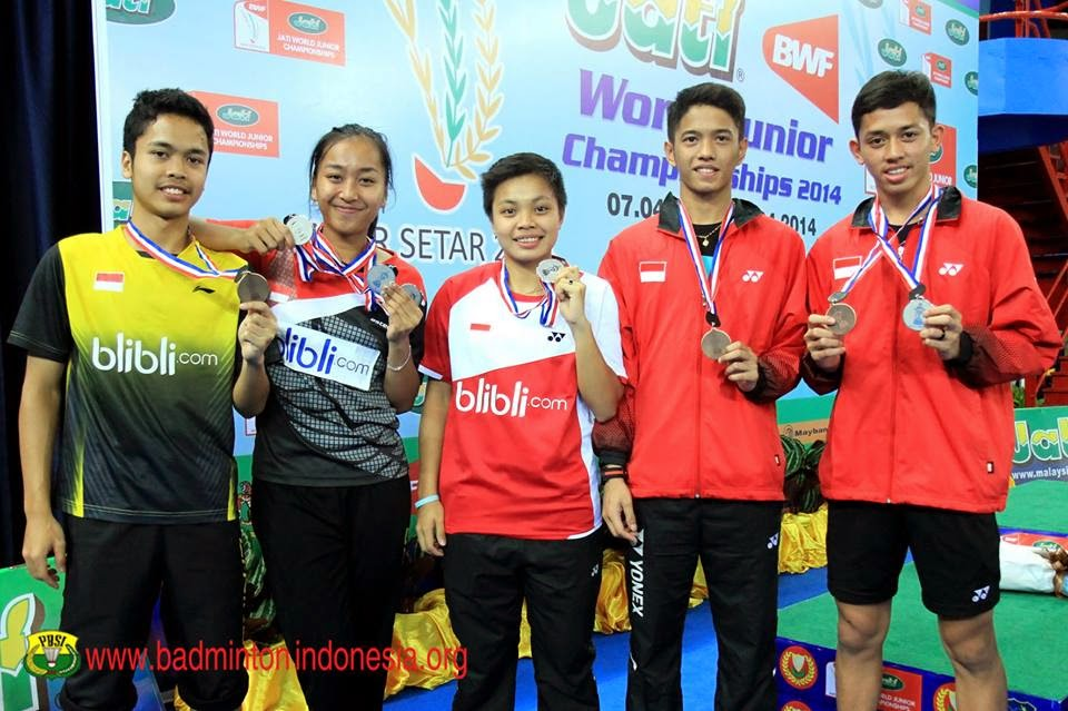 Draw Babak Final Tournament BCA Indonesian Open MetLife BWF World Premier Superseries 2014