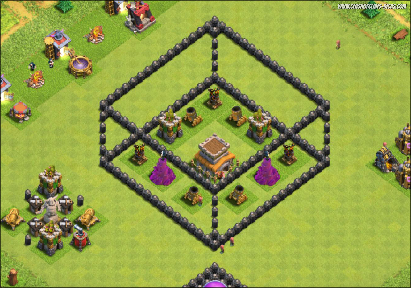 Clash Of Clans Comment Hacker Son H Ef Bf Bdtel De Ville