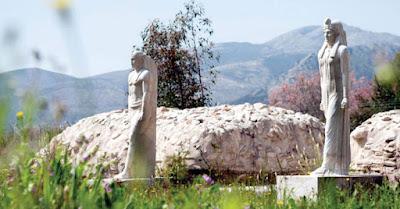 Περίπατος-ξενάγηση στο Ιερό των Αιγυπτίων Θεών και στο Μουσείο Μαραθώνα