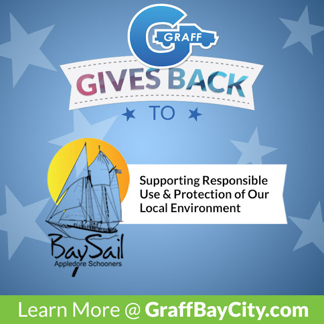 Graff Bay City Gives Back to The BaySail Appledore Schooners this August