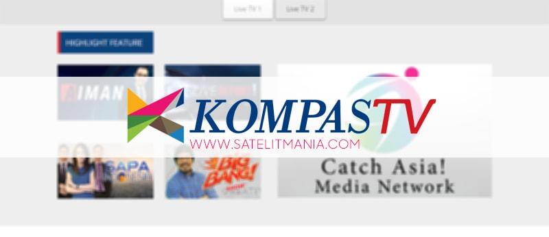 Frekuensi Kompas TV Terbaru Di Parabola Palapa D 2017