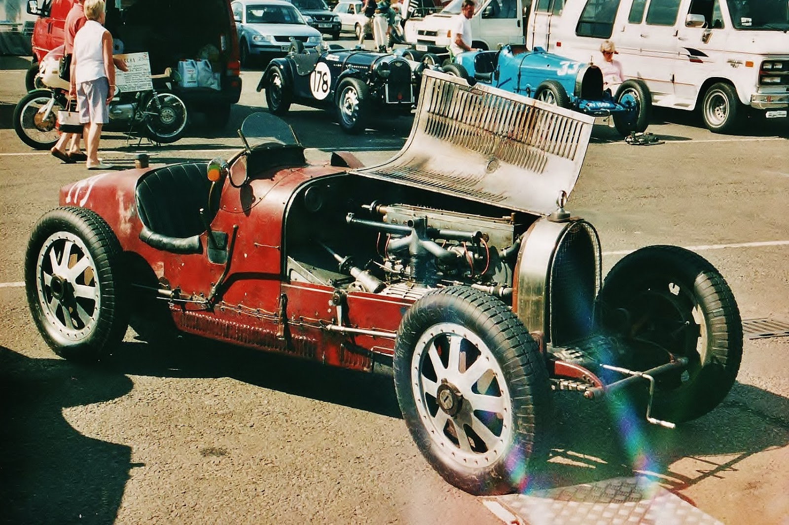 Ferraris and Other Things: Bugatti Type 35C