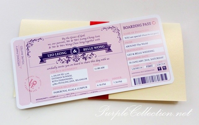 wedding boarding pass card printing malaysia, bespoke, angelababy logo, floral, flower, purple, maroon, pearl ivory gold, waze directions, mega church, petaling jaya, selangor, kuala lumpur, park royal hotel, pastel pink, modern, unique, special, passport, handmade, hand crafted, custom made, printing, express, cetak, order, urgent, online, USA, canada, australia, new zealand, vancouver, melbourne, victoria, sydney, canberra, chinese, wedding, church, mass, instagram, hashtag, matrimony