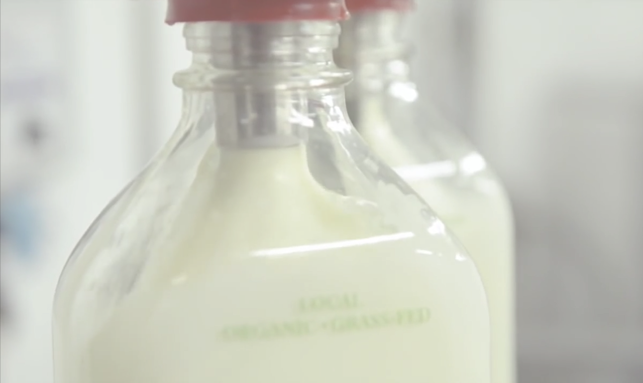 Glass Milk Bottles Image from Nathan Slabaugh Video