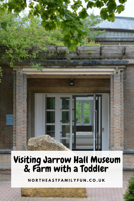 Visiting Jarrow Hall Museum & Farm with a Toddler