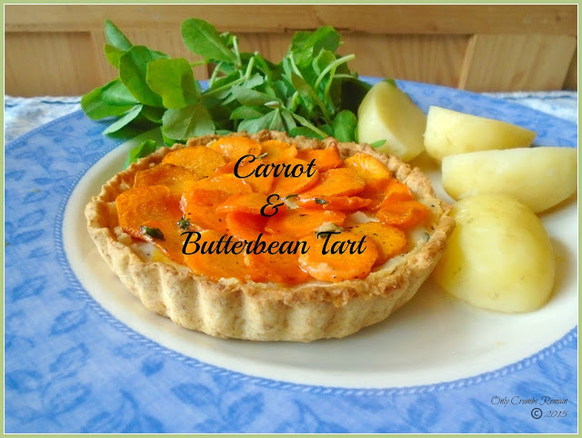 Carrot & Butterbean Tartlets