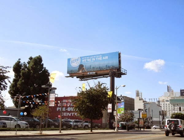 KCRW 899 radio billboard