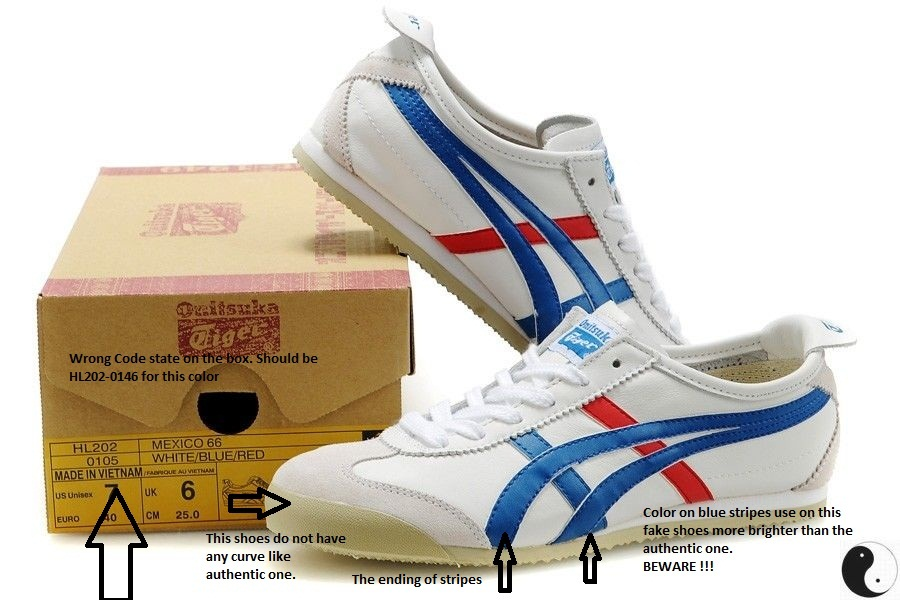d7c29469eca FOOT WEAR GALLERY: HOW TO SPOT FAKE ONITSUKA TIGER