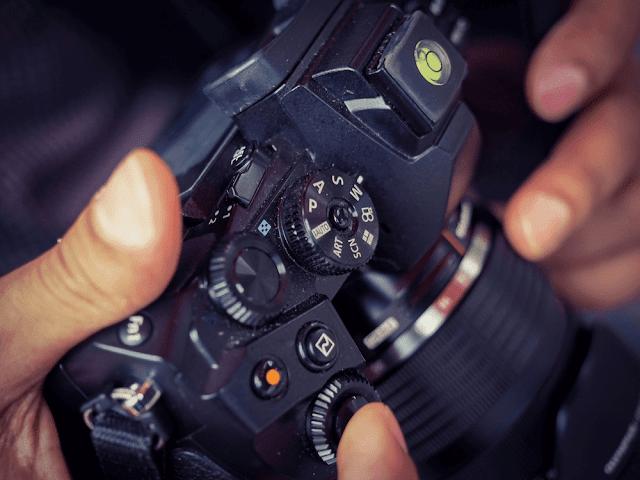 Mode Manual Kamera
