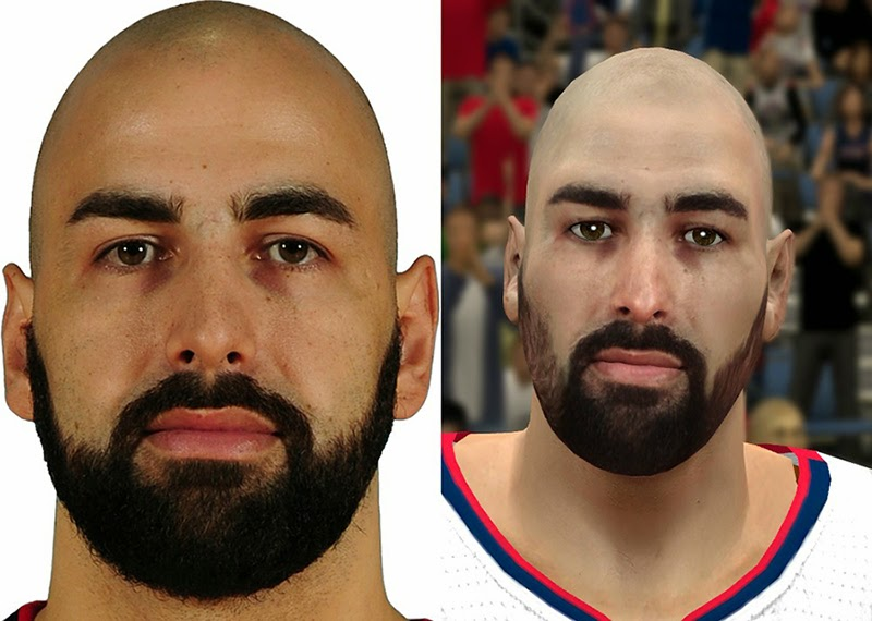 NBA 2K14 Pero Antic Face Mod