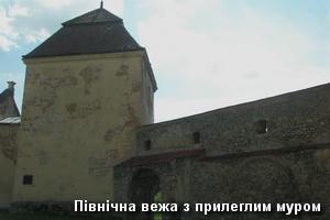 Північна вежа замку і мури