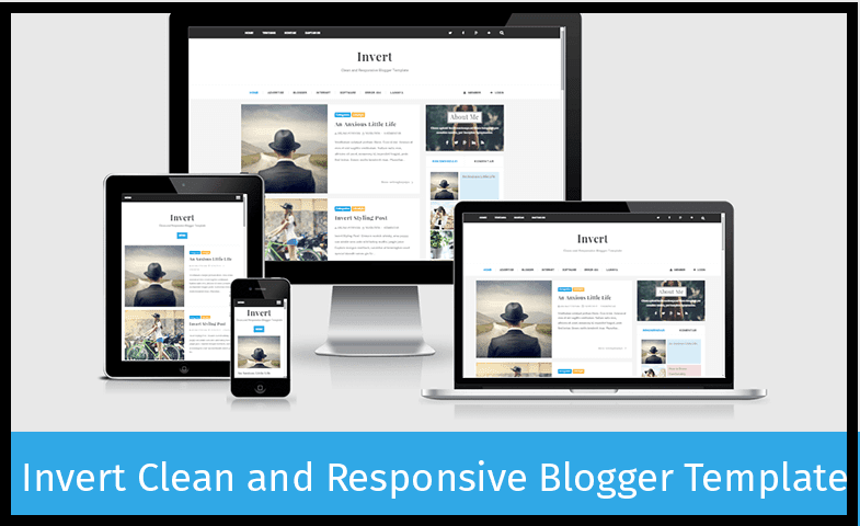 Invert Responsive And Seo Friendly Best Blog Templates Html Free