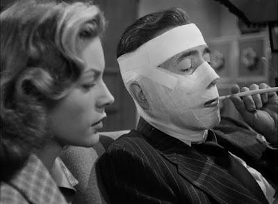 Humphrey Bogart, Lauren Bacall / La senda tenebrosa (1947) Dark Passage,