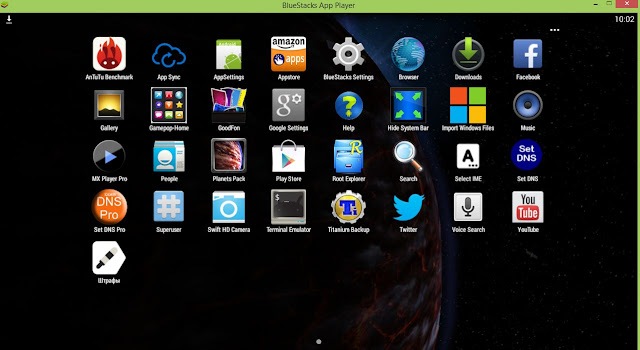 bluestacks rooted version download