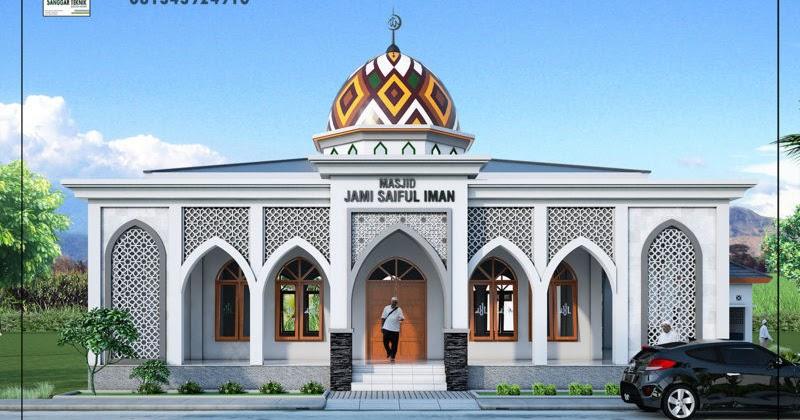 40+ Desain Masjid 2 Lantai Sederhana, Yang Nyaman!