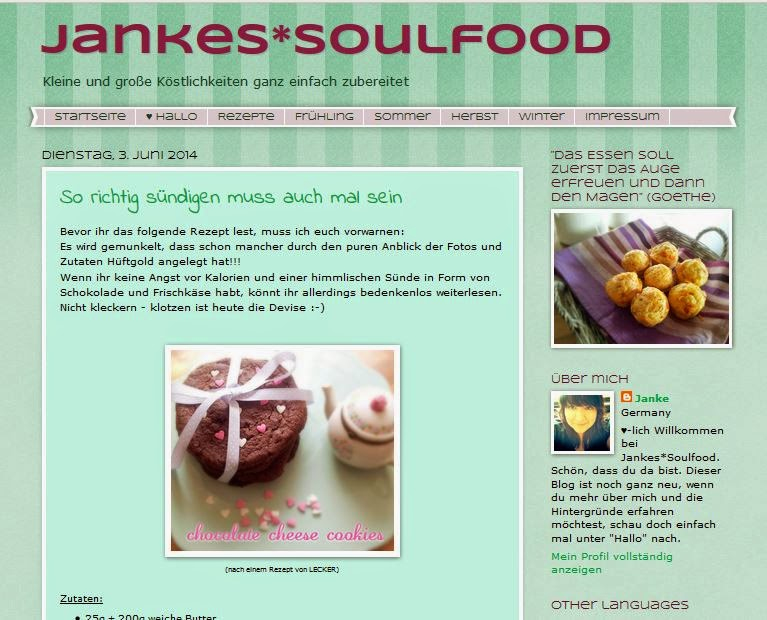 Jankes Soulfood Werbung Der Erste Geburtstag