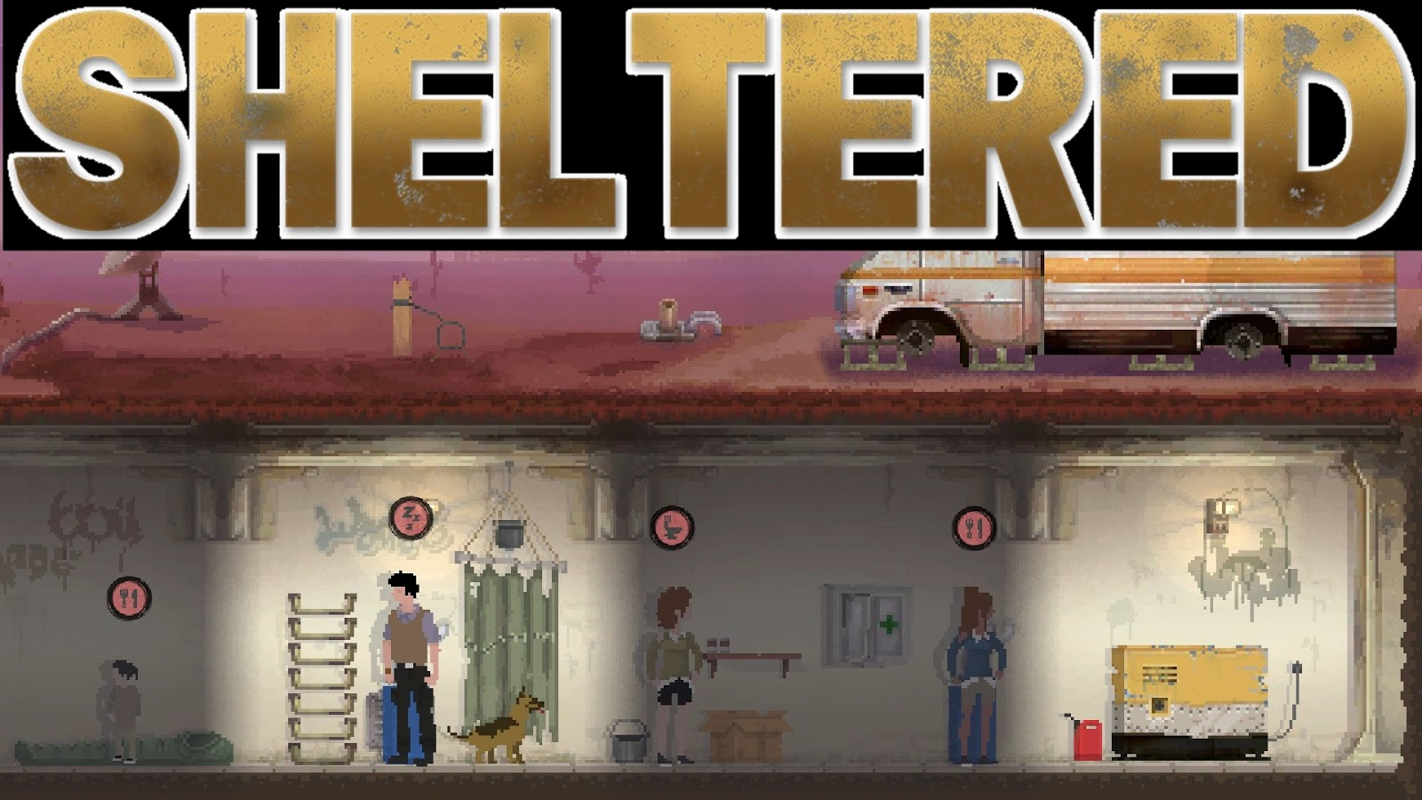 Sheltered Game Download Poster