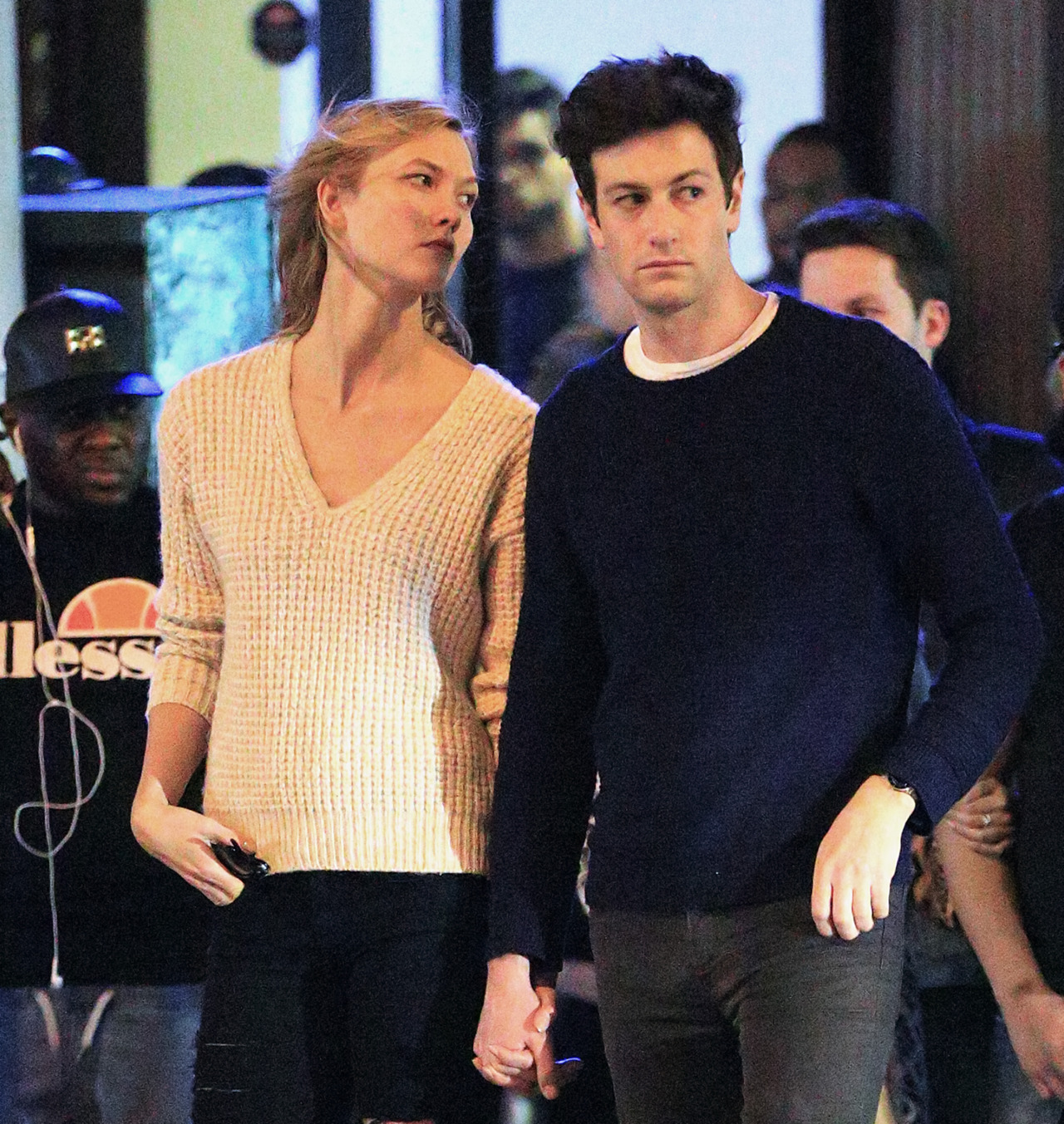 Karlie Kloss Has a Date Night Out in New York City