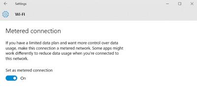 Cara mengurangi penggunaan Data Internet pada PC