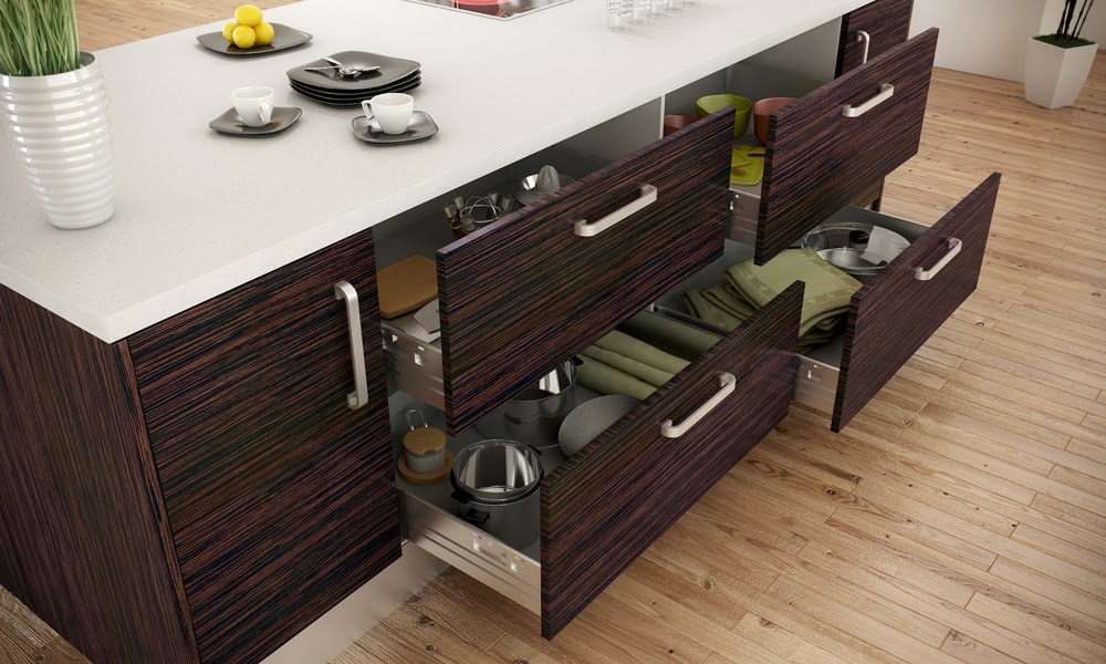 Materiales para cocinas i laminados resistentes y Muebles de cocina en madera mdf