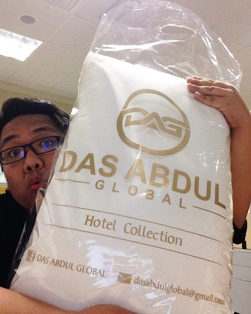 bantal hotel, Das Abdul Global, #DAGPillow