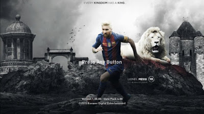 PES 2016 Lionel Messi StartingScreen by Leo05