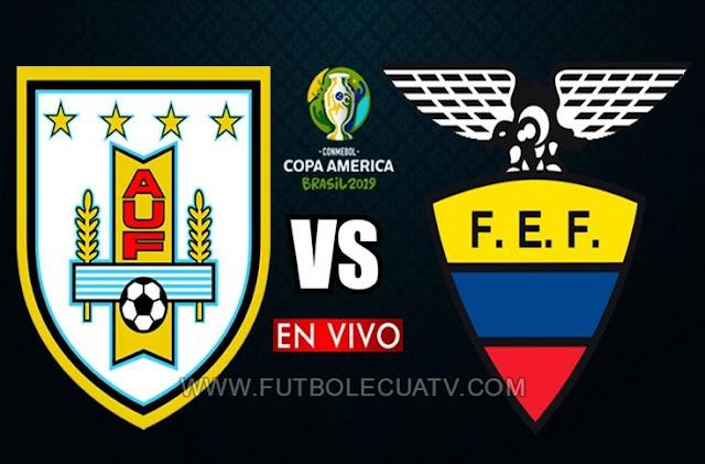Uruguay y Ecuador se enfrentan en vivo 📺 desde las 17:00 horario de nuestro territorio a jugarse ⚽ en el Estadio Mineirão ciudad de Belo Horizonte por la fecha uno Grupo C de la Copa América 2019, siendo el árbitro principal Anderson Daronco  de nacionalidad brasilera con transmisión de los canales autorizados Teleamazonas y DirecTV Sports.