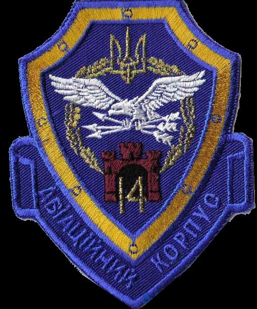 емблема 14 авіаційного корпусу ВПС
