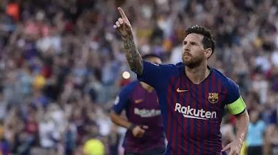 Lionel Messi Hattrick, Barcelona Gulung PSV Eindhoven
