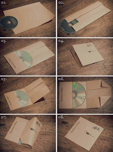 Tutorial para hacer un sobre para envolver un cd