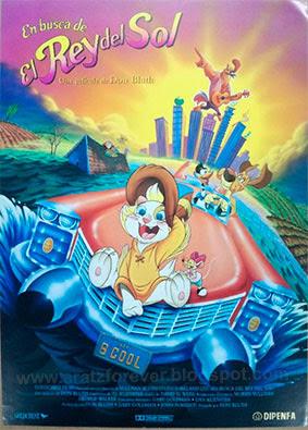 En busca del Rey del Sol, Dob Bluth, Rock-A-Doodle