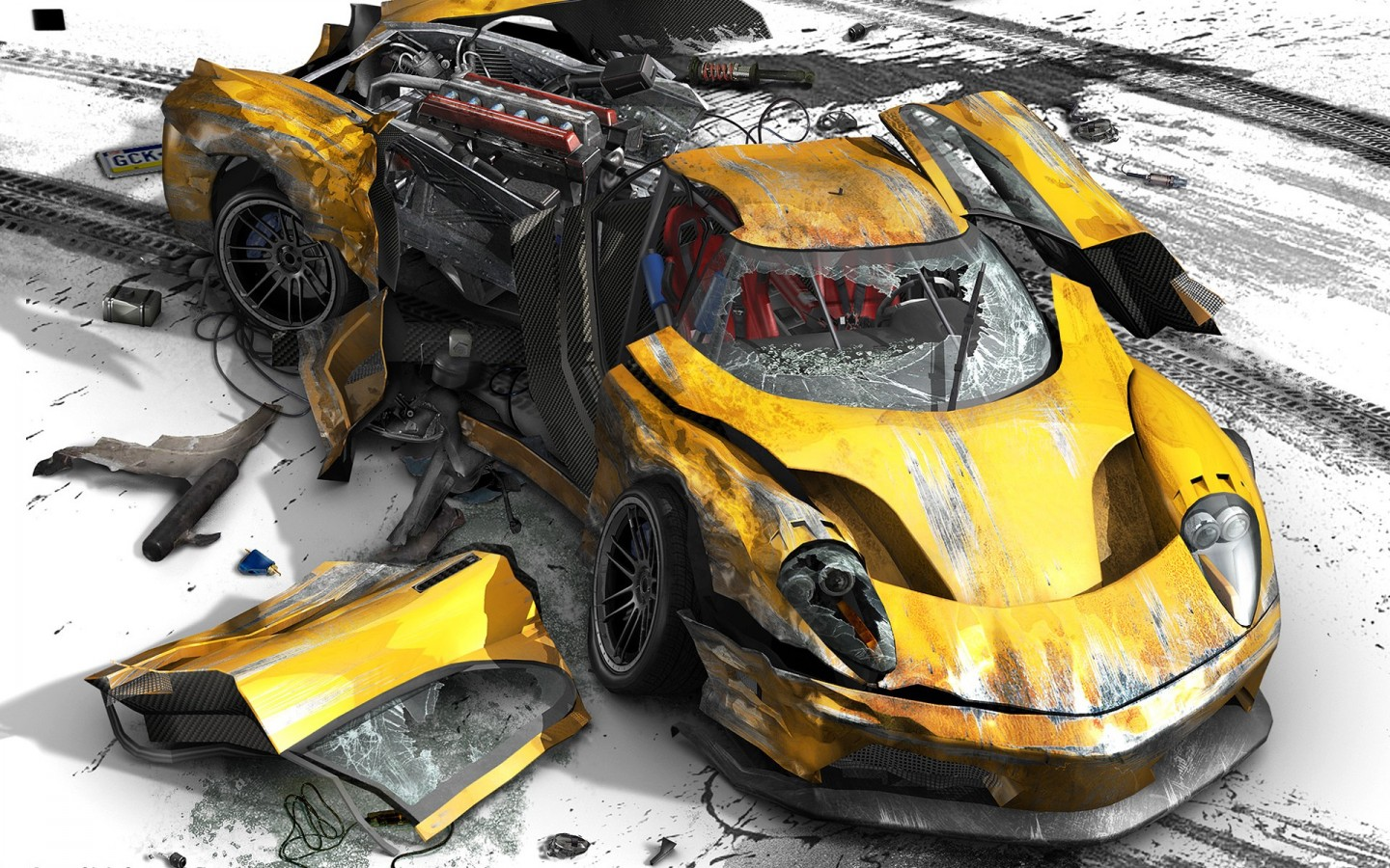 Let me get this out of the way first: Car Racing Game Wallpaper