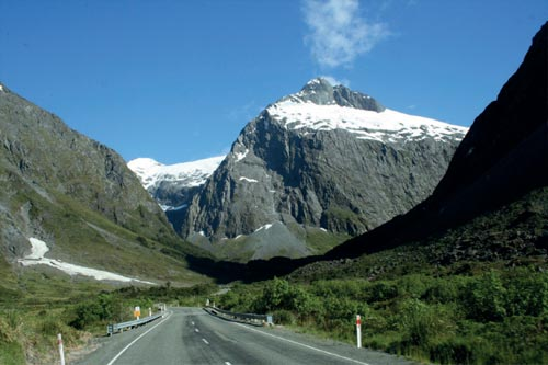 MILFORD ROAD Selandia Baru, 231 km