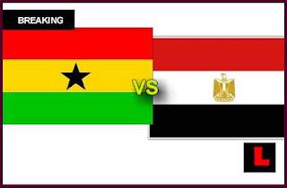 مشاهدة مباراة مصر وغانا الاحد 13-11-2016