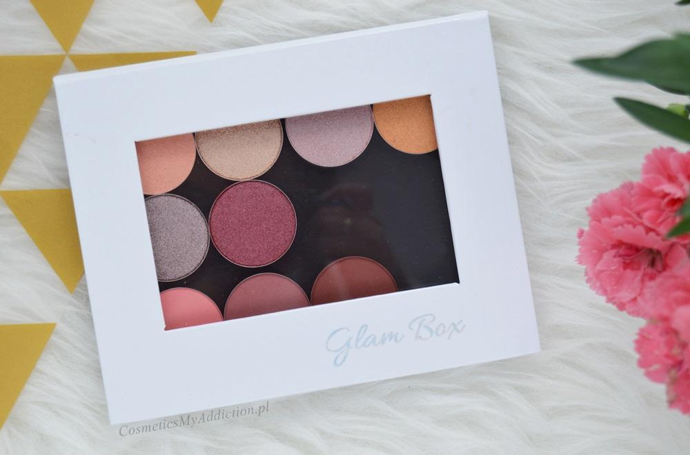 GlamShadows - pierwsze wrażenia, swatche, glamshop